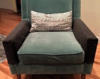 """Sofa or Chair Arm Covers,Set of 2,Custom Sizes Available,Listing for 3"""" x 9"""" x 24"""" ,You pay shipping. Made to Order."""