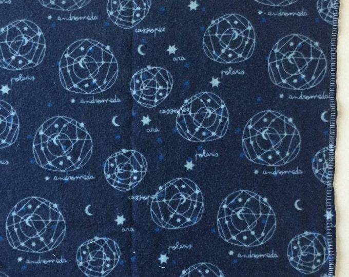 Navy constellations recieving blanket