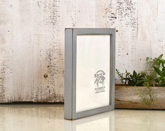 8x10 Picture Frame in Deep Flat Style with Vintage Silver Finish - IN STOCK - Same Day Shipping - 8 x 10 Photo Frames