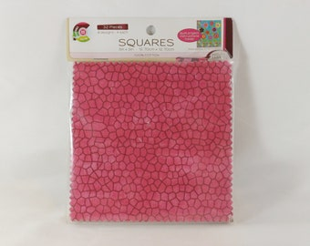 """Creative Cuts Squares Pack (32) 5"""" x 5"""" pieces"""