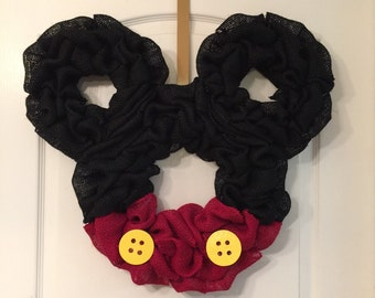 21x21 Mickey Mouse wreath