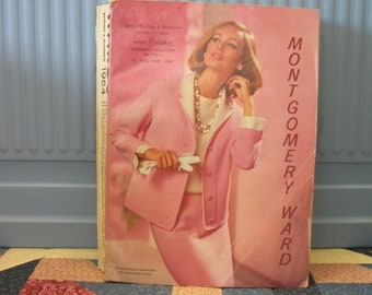 1964 Spring and Summer Montgomery Ward Catalog 1342 pages 1960s designersfashions