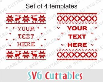 Ugly sweater svg, Christmas svg, Christmas Sweater SVG, EPS, DXF, sweater alphabet, svg bundle, Ugly Christmas Sweater Vector, Digital file