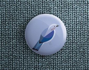 button met sialia (pin / magneet / spiegel)