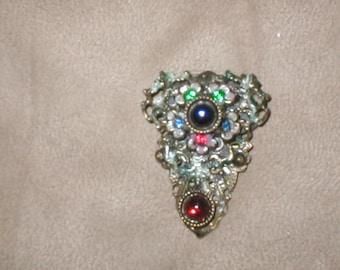 Antique Vintage Rare Dress Clip