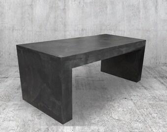 TV Concrete Furniture Wax Or Coffee Table