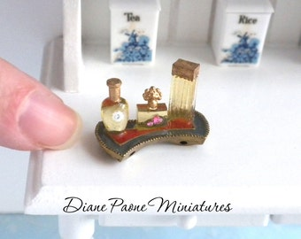 Art Deco Perfume Tray - Dollhouse Miniature Toiletries