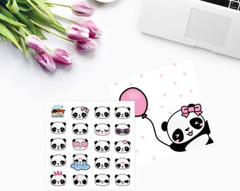 Mini Amanda The PANDA EMOJIS ~ Panda Face ~ CAM PaNDA 100