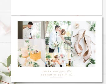 Photographer Templates, DIY Thank You Card, Wedding Photography Marketing, Branding Templates, INSTANT DOWNLOAD!