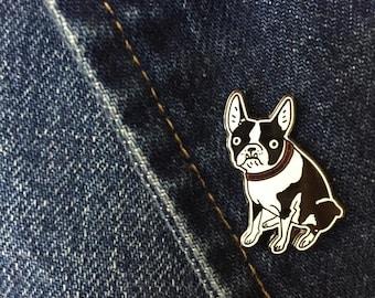 Boston Terrier Lapel Pin