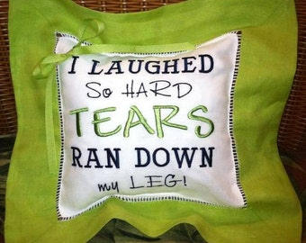 Funny Throw Pillow