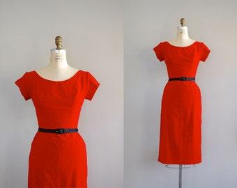 1950s dress / red dress / Amour Fou dress