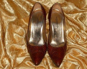 Genuine vintage Dolce e Gabbana shoes - python