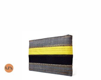 Bee, Handmade Personalized Cardholder, Vegan Friendly, Vegan Leather, Leather Cardholder, ID Wallet, Bifold, Front Pocket Wallet, UNUSUAL