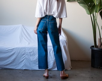 cropped easy fit jeans / cropped baggy jeans / 27 w / 3195t / B10