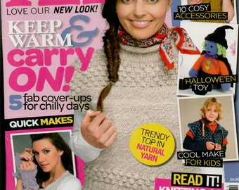 Let's Knit Knitting Magazine Issue 47 October 2011