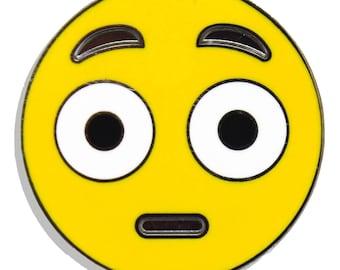 Emoji What? Hard Enamel Pin