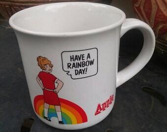 Cute authentic Little Orphan Annie coffee  mug!