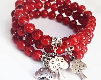 Apple tree bracelet