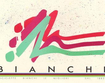 Bianchi Bicycle Poster (#0208) 6 sizes