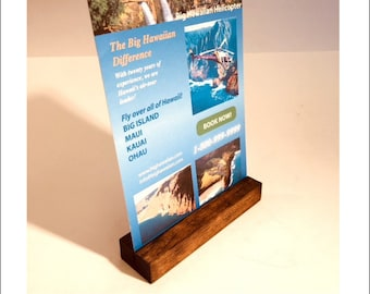 Universal Sign Stand + Large Sign Holder + Rustic Wood Sign Holder + Table Card Stand + Photo Holder + SET OF 20