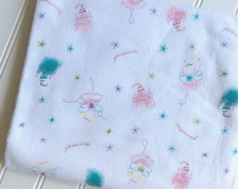 Marcus-Brothers-Fabric-By-The-Yard-Princess-Pink-princess ballerina-Cotton-Flannel-Quilt-Fat-Quarter-Sew-DIY-Projects-Crafts-Supplies