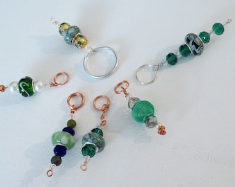 Keychains, zipper pulls, cell phone charms #5 - Set of 6