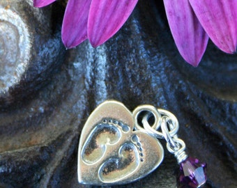 Miscarriage Remembrance -Tiny Footprints on a Mother's Heart