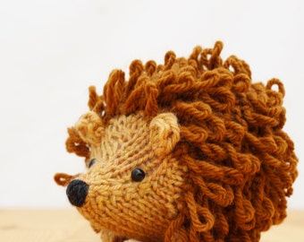 Mario the Hedgehog Knitting Pattern PDF