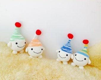 Crochet Robot Toy, Robot Amigurumi, Crochet Robot, Crochet Alien,
