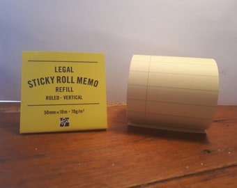 Legal Sticky Roll Memo