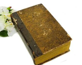 Antique French Book Formulaire General ou Modeles D'Actes  du Code de Procedure Civile 1832