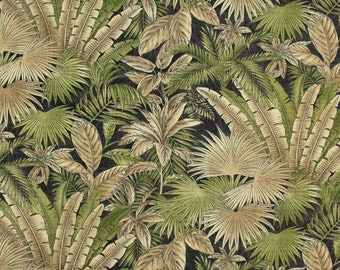 Bahamian Breeze Coal Waverly Fabric