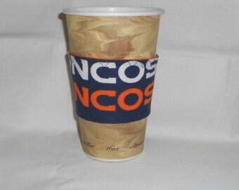 Denver Broncos Coffee Cup Cozy Set of 2