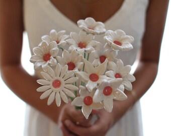 Keepsake Bouquet Bridal bouquet Wedding flower bouquet White wedding bouquet Bridesmaid bouquet Wedding flowers Destination Wedding