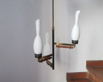 Vintage chandelier Vintage Design Italian STILNOVO