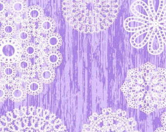 Knots & Loops, 6461, Lilac by Michael Miller Fabrics
