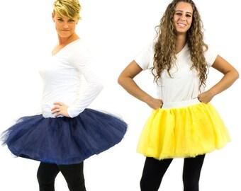 Adult Tutu Skirt | Run Tutu, Race Tutu | Princess Bachelorette Dress Up Tutu | Dance Tutu