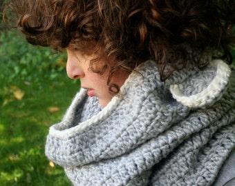 COWL CROCHETPATTERN with Ears, Kids Cowl, Kids Accessories, Easy Pattern, Crochet Pattern, Cowl Pattern, Kids Crochet, kids Fashion