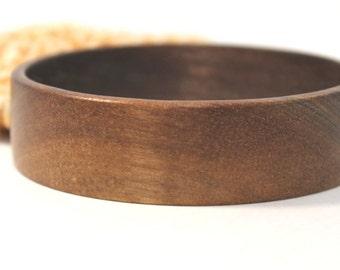 Wood Bangle Bracelet