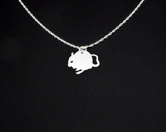 Gerbil Necklace - Gerbil Jewelry - Gerbil Gift