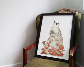 A2 As One wolf archival limited edition print