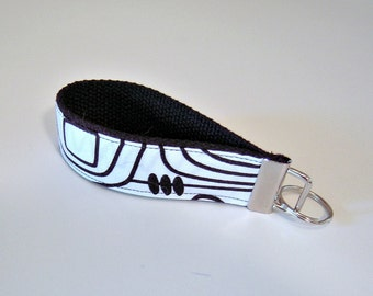 Black and White Key Fob in Circuits