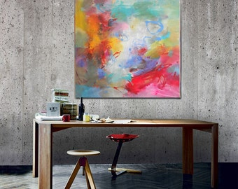 Modern Art Abstract Painting, Original Painting Canvas Art, Abstract Painting Canvas Art, Living Room Art, Large Abstract Painting, Fine Art