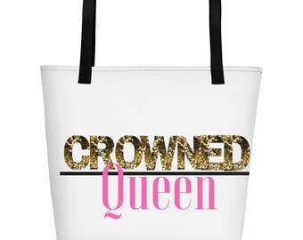 Crowned Queen Tote Bag