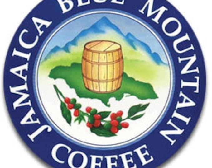 Jamaica Blue Mountain Ground Coffee 8 oz Roasted Ground  World Best 100%  Blue Mountain -(227g)-  finest Coffee