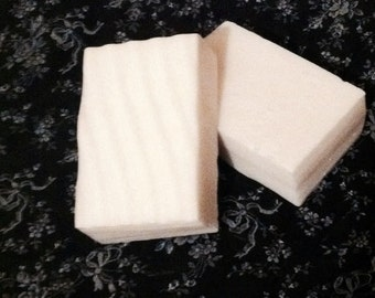 Coconut Cherry Scented Goats Milk Soap, Made to Order, White Dye Free Soaps