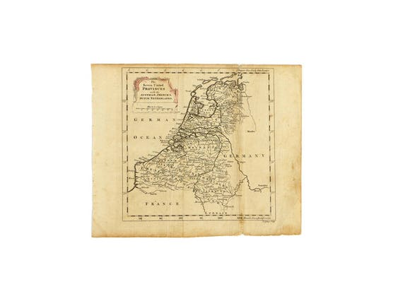 1754 Seven United Provinces with the Austrian, French & Dutch Netherlands