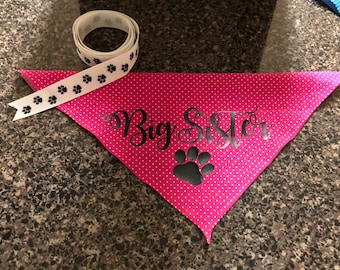 Custom Big Sister Bandana