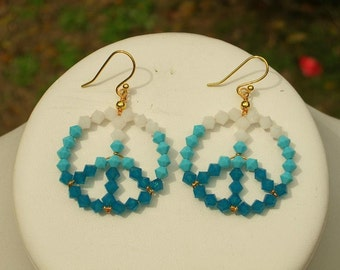 Crystal Peace Earrings